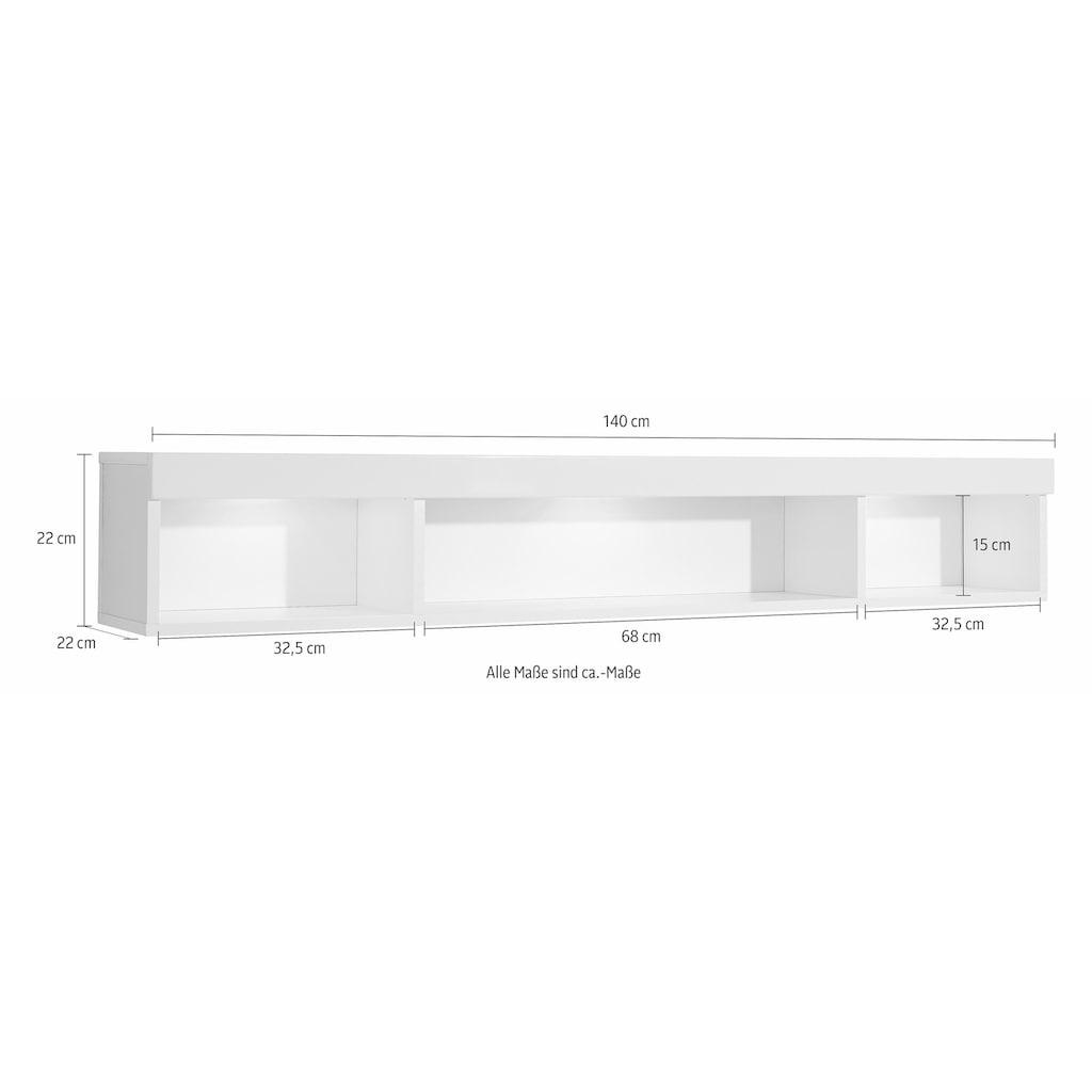Wilmes Wandregal »Imola1«, Breite 140 cm