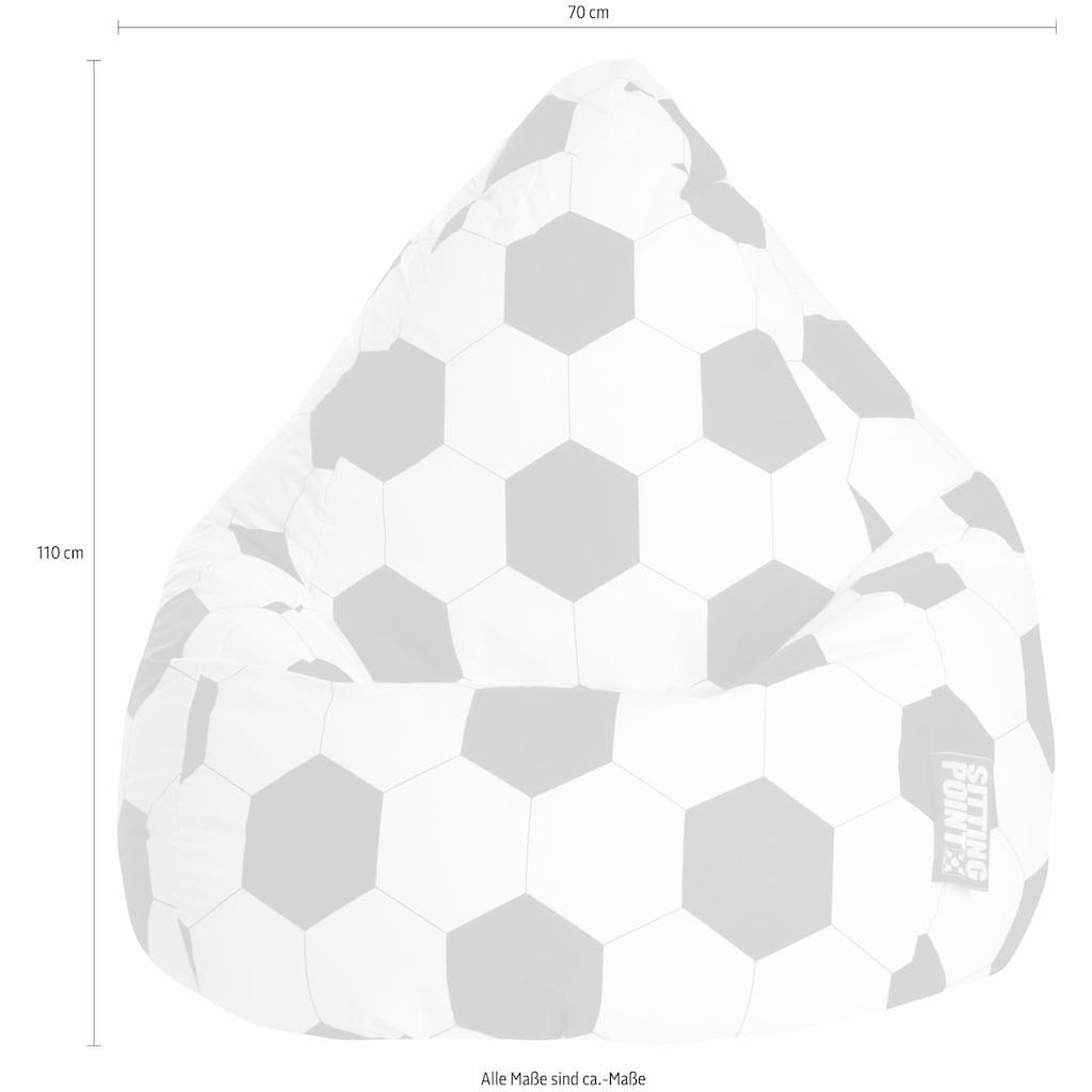Sitting Point Sitzsack »Fussball XL«