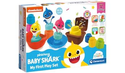 Clementoni® Spielbausteine »Clemmy Soft - Baby Shark Spiel-Set«, (14 St.) kaufen