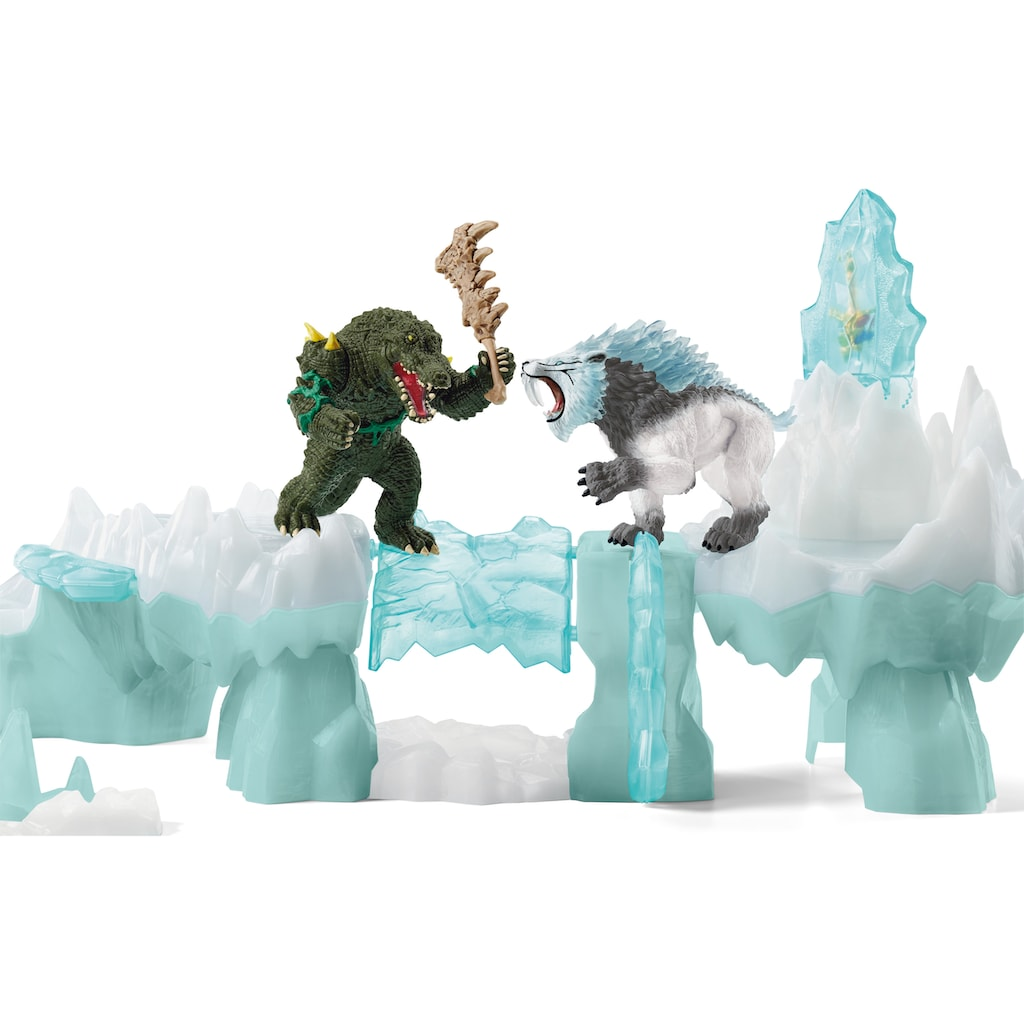 Schleich® Spielwelt »Eldrador, Angriff auf die Eisfestung (42497)«