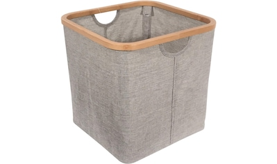 Franz Müller Flechtwaren Aufbewahrungsbox »Stoor«, (1 St.), mit Bambusrahmen kaufen