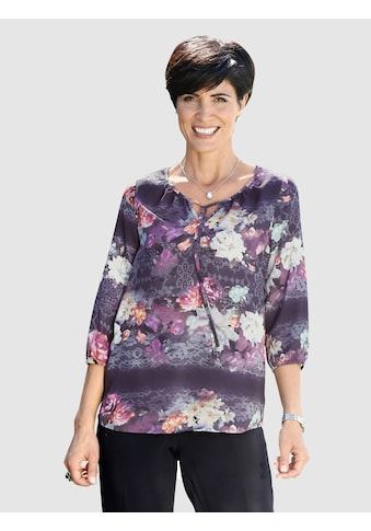 Paola Tunika mit floralem Spitzendruck kaufen