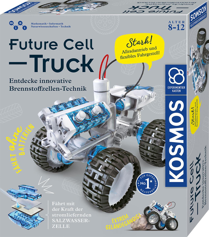 Kosmos Modellbausatz Future Cell-Truck grau Kinder Modellbausätze Bauen Konstruieren