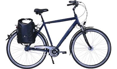 HAWK Bikes Trekkingrad »HAWK Citytrek Gent Deluxe Plus Ocean Blue«, 7 Gang Shimano Nexus Schaltwerk kaufen