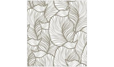 MySpotti Fensterfolie »Look Leaves beige«, halbtransparent, glattstatisch haftend, 90... kaufen