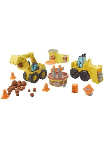 Hasbro Knete »Play-Doh Wheels Bagger & Schaufellader« kaufen