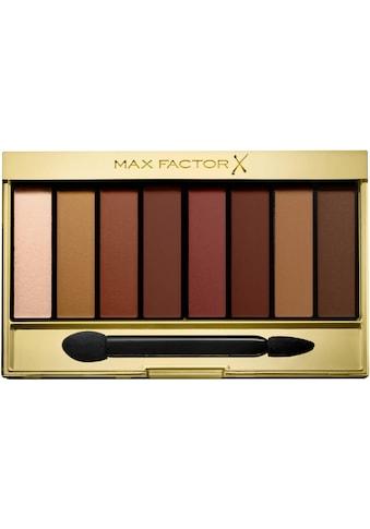 "MAX FACTOR Lidschatten - Palette ""Nude Palette 07 Matte Sunset"" kaufen"