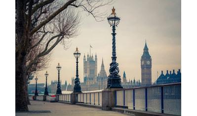 Papermoon Fototapete »London Big Ben«, matt, Vlies, 5 Bahnen, 250 x 180 cm kaufen