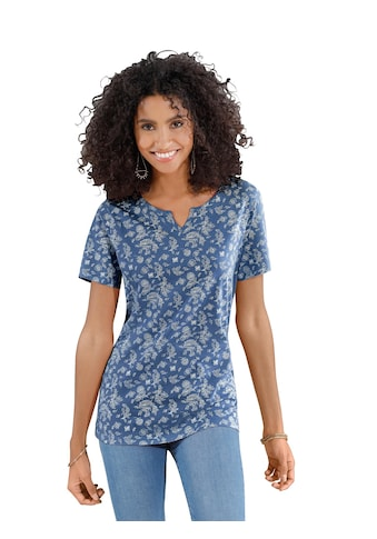 Classic Basics Shirt im floralem Paisley - Dessin kaufen