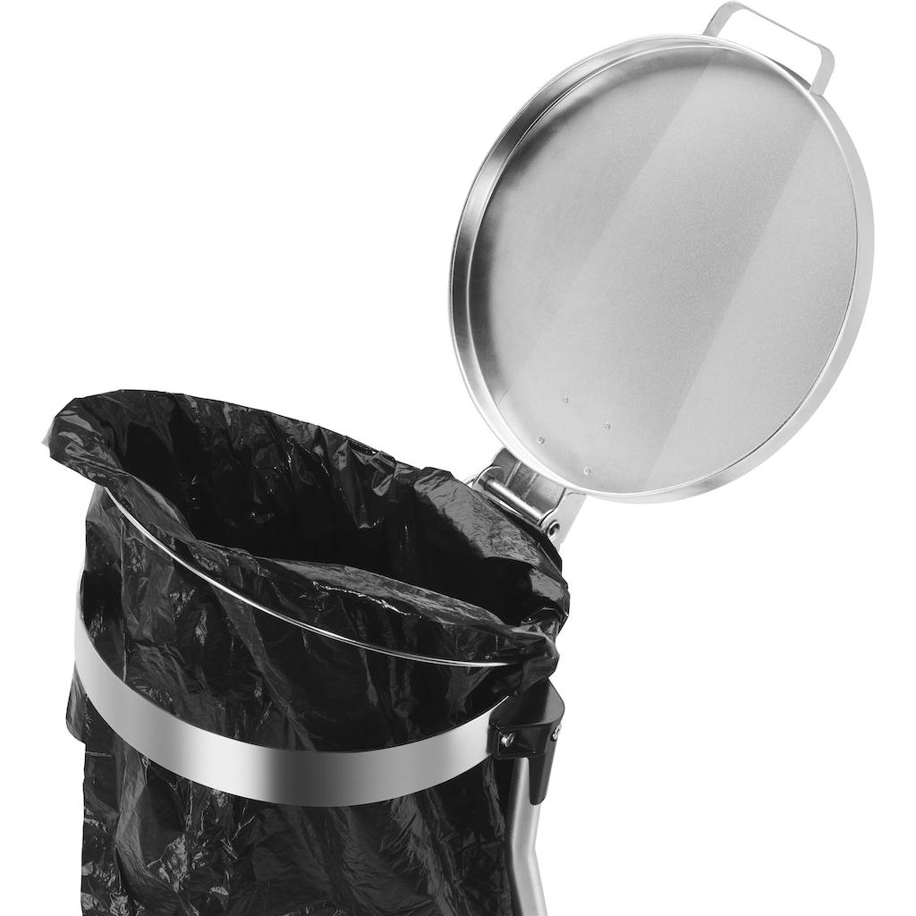 Hailo Müllsackständer »MSS Design XXXL«, 120 Liter, integrierter Abfallbeutelhalter