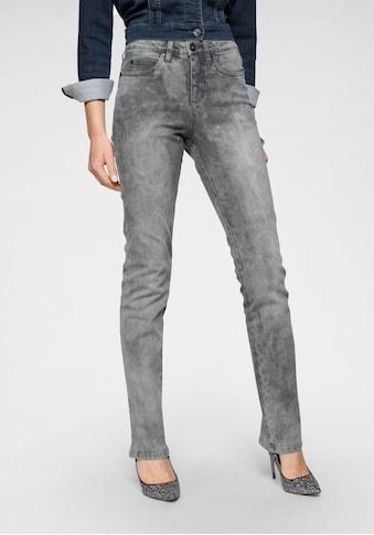 Arizona Gerade Jeans »Comfort-Fit«, Moonwashed Jeans kaufen