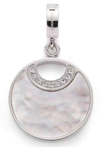 LEONARDO Charm-Einhänger »Norma Darlin's, 017039«, mit Perlmutt und Kristallsteinen kaufen