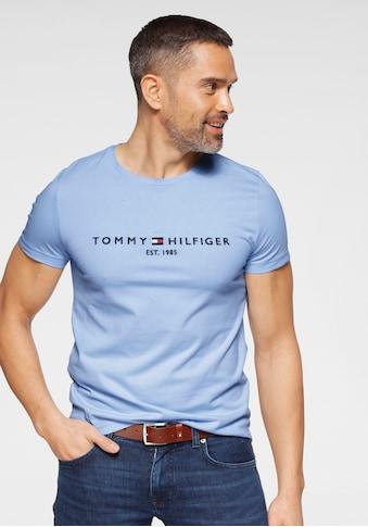 TOMMY HILFIGER T-Shirt »Tommy Logo Tee« kaufen