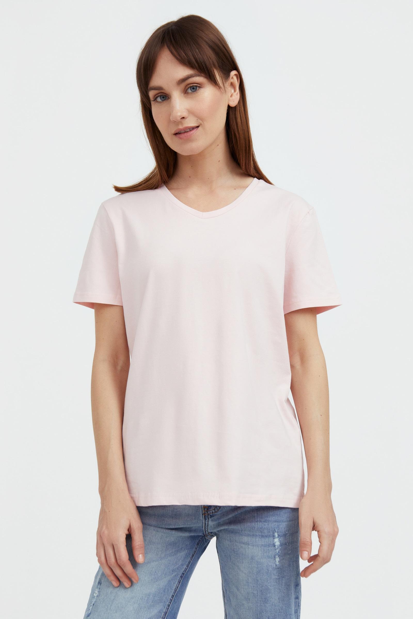 finn flare -  T-Shirt, mit V-Ausschnitt