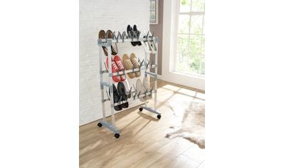 Ruco Schuhregal, Aluminium/Kunststoff, für bis zu 36 Paar Schuhe kaufen