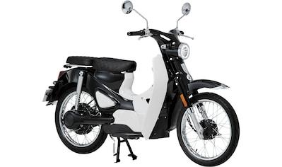 Santa Tina E-Motorroller »Retro-Mofa Turin«, 45 km/h, 65 km kaufen