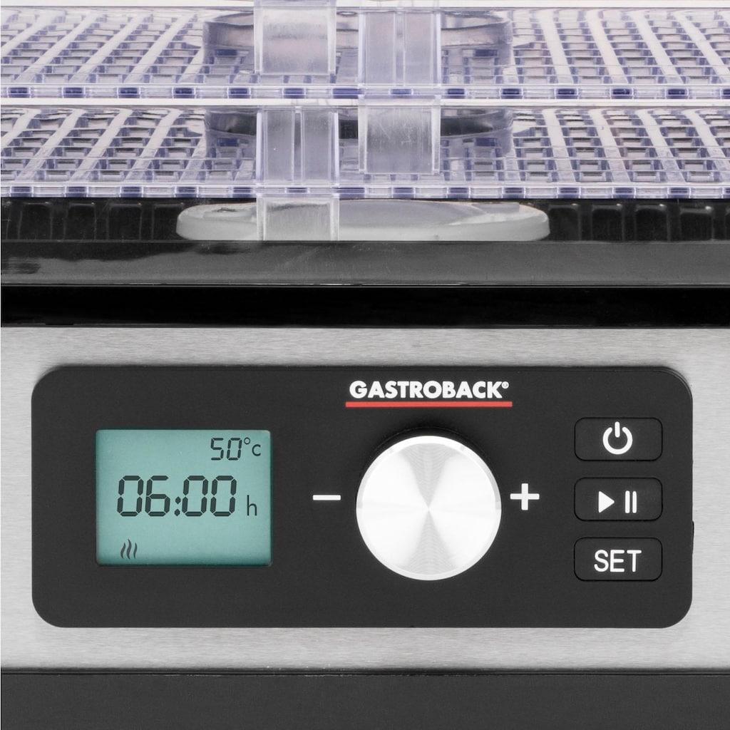 Gastroback Dörrautomat 46600 Design Natural Plus, 250 Watt, 6 Etagen