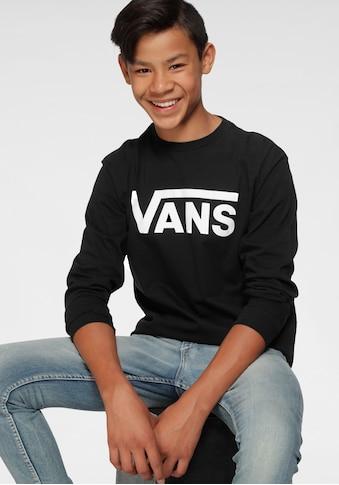 Vans Langarmshirt »VANS CLASSIC LS BOYS« kaufen