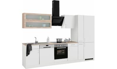 HELD MÖBEL Küchenzeile »Utah«, mit E-Geräten und großer Kühl- Gefrierkombination,... kaufen