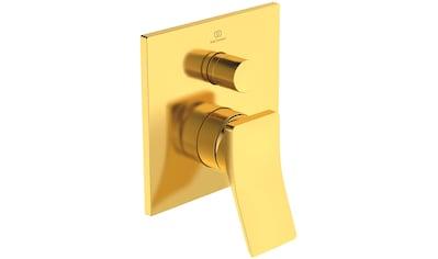 IDEAL STANDARD Badarmatur »Check«, Unterputz Bausatz 2, Brushed Gold kaufen