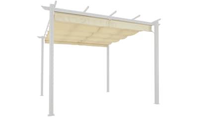 KONIFERA Ersatzdach für Pavillon »Tilos«, BxL: 300x400 cm, sandfarben kaufen