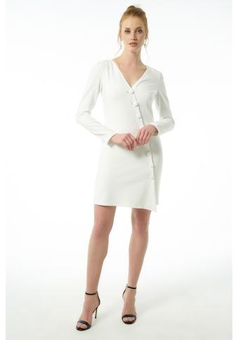 Jimmy Sanders Minikleid, mit V-Ausschnitt kaufen