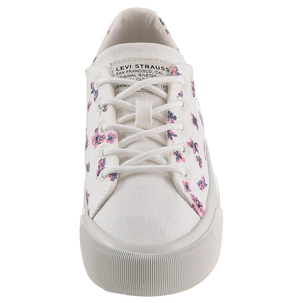 Levi's® Sneaker »Summit Low S«, mit hübschen Blüten