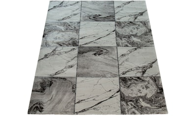 Teppich, »Kraft 521«, Paco Home, rechteckig, Höhe 17 mm, maschinell gewebt kaufen