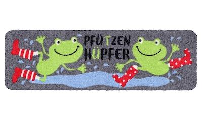 Fußmatte Pfützenhüpfer , waschbar kaufen