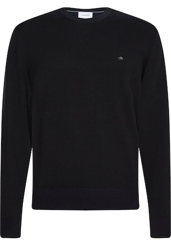 Calvin Klein Rundhalspullover »COTTON SILK C-NECK SWEATER« kaufen