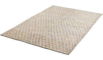 Obsession Wollteppich »My Jaipur 334«, rechteckig, 14 mm Höhe, reine Wolle, handgewebt, Wohnzimmer kaufen