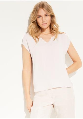Comma Materialmix - Shirt kaufen