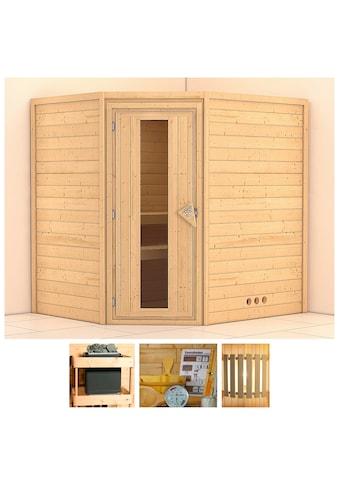 KONIFERA Sauna »Meyk«, 196x170x198 cm, ohne Ofen, Energiespartür kaufen