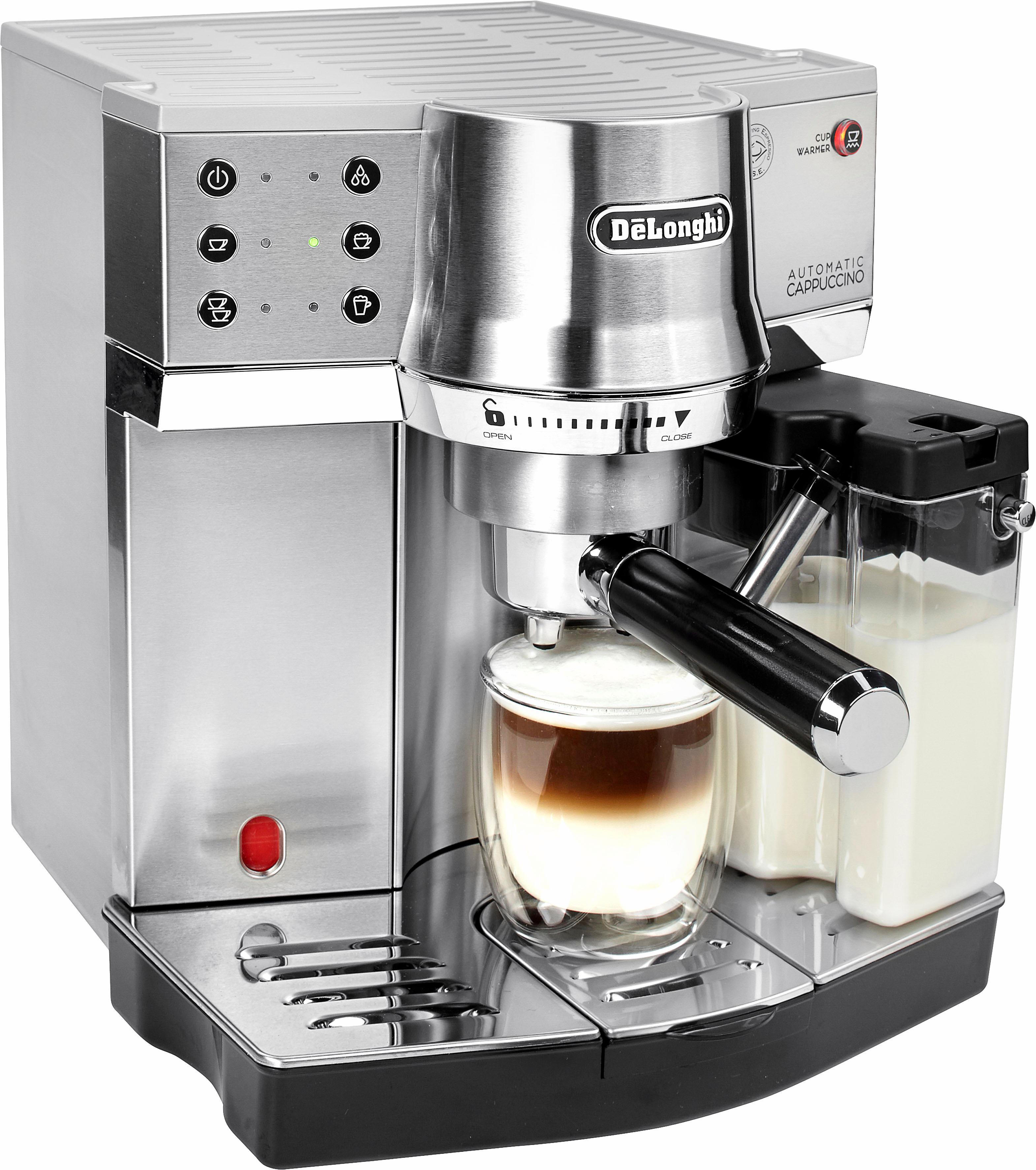 De'Longhi Siebträgermaschine EC 860M Technik & Freizeit/Elektrogeräte/Haushaltsgeräte/Kaffee & Espresso/Espressomaschine