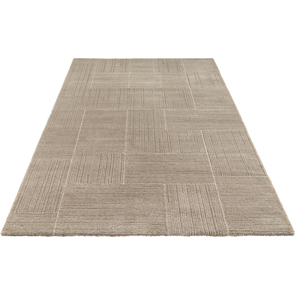 ELLE Decor Teppich »Castres«, rechteckig, 14 mm Höhe, Wohnzimmer