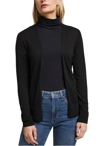 Esprit Cardigan, mit dezentem Streifendesign im Rücken kaufen