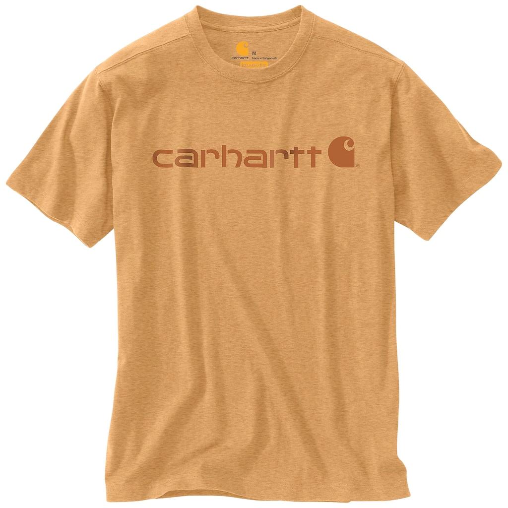 Carhartt T-Shirt »CORE LOGO T-SHIRT S/S«