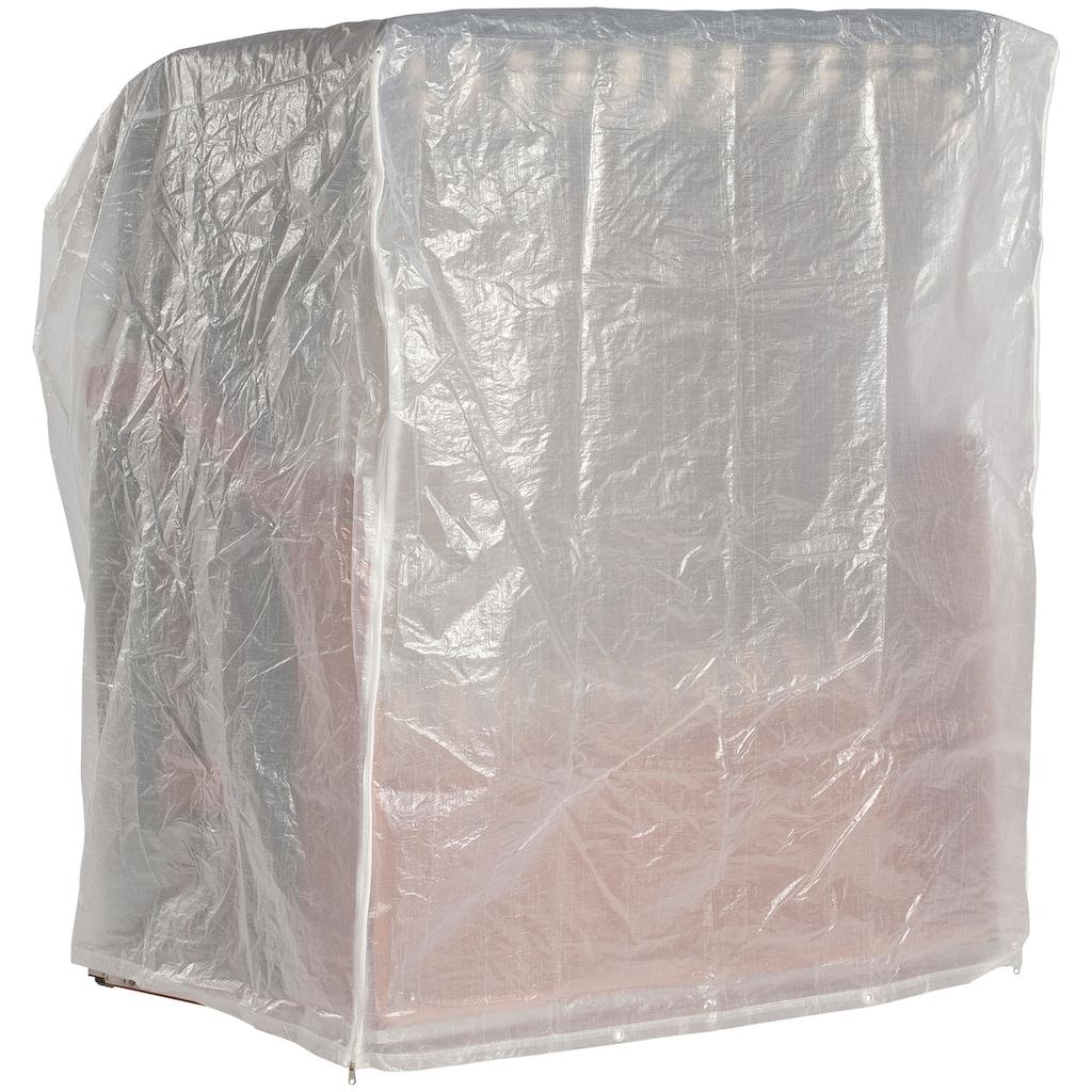 Sonnen Partner Strandkorb-Schutzhülle, für Strandkörbe, BxLxH: 125x110x156cm, transparent