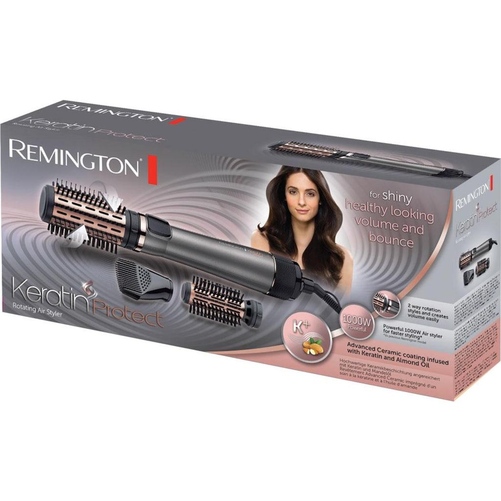 Remington Warmluftbürste »AS8810«, 3 Aufsätze}, mit 3 Aufsätzen, 1000 Watt