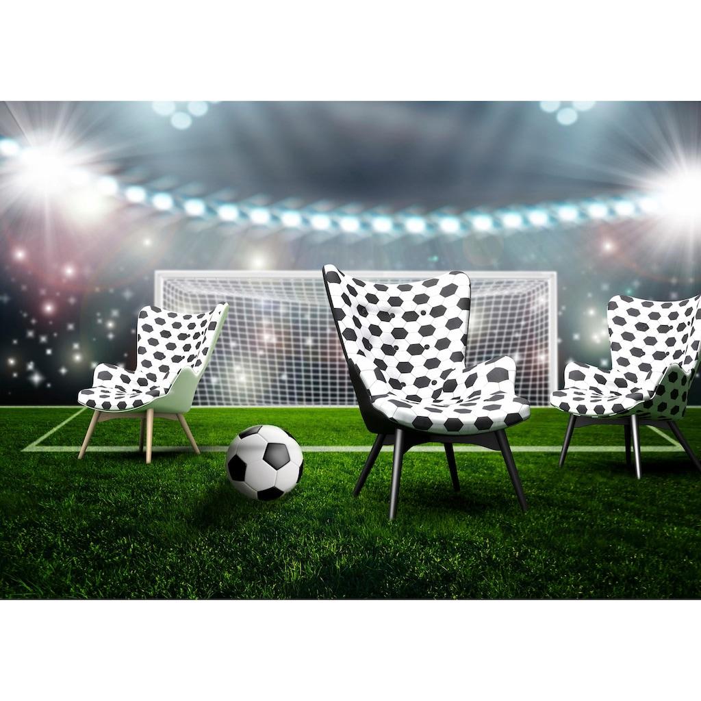 Max Winzer® Sessel »Arne, der Fußballer«, in Schalenform, im Fußball-Look, Hochlehner