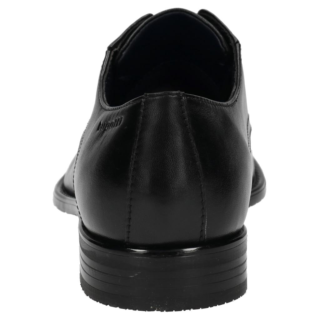 bugatti Schnürschuh »Rinaldo«, in modisch schlanker Form