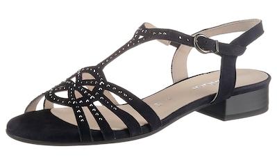 Gabor Sandalette, mit glänzenden Strasssteinchen verziert kaufen