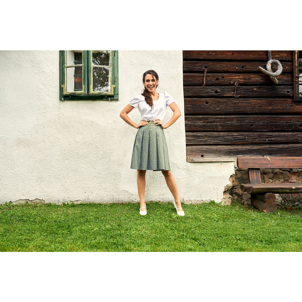 Love Nature Trachtenbluse, mit taillierter Passform - Made in Austria