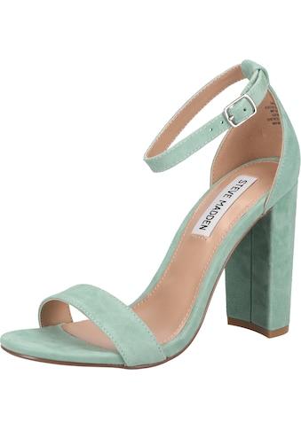 STEVE MADDEN High-Heel-Sandalette »Veloursleder« kaufen