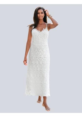 Alba Moda Strandkleid aus ausdrucksstarker Spitze kaufen