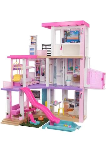 Barbie Puppenhaus »Traumvilla«, mit Balkon, Dachterasse & Aufzug, LIcht und Sound kaufen