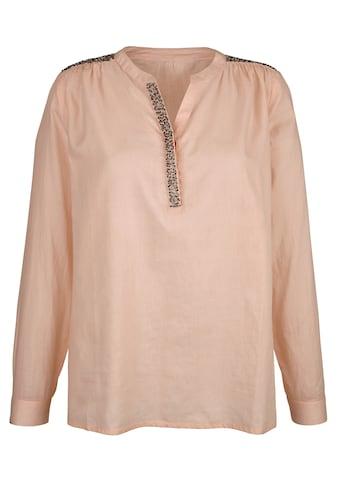 Dress In Bluse mit Steinchen kaufen