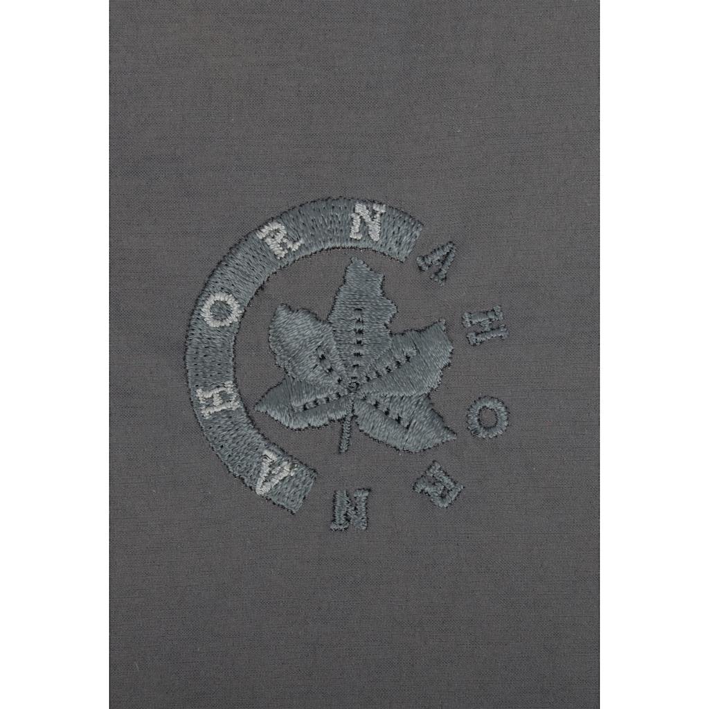 AHORN SPORTSWEAR Funktionshose mit cooler Stickerei