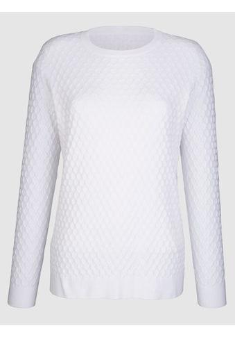 Dress In Rundhalspullover, mit strukturierter Warenobfläche kaufen