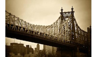 Papermoon Fototapete »New Yorker Brücke«, Vliestapete, hochwertiger Digitaldruck kaufen